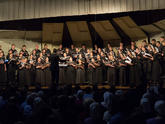 The FBTI Chorale performing in the Winter of 2015
